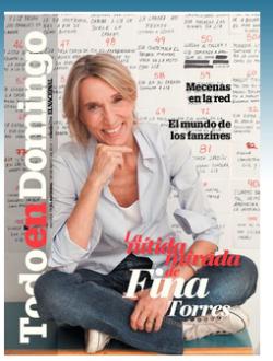 """Portada de la revista """"Todo en Domingo"""", donde aparece el reportaje"""
